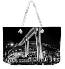 Miami Marlins Park Stadium Weekender Tote Bag