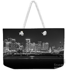 Miami On A Clear Summer Night Weekender Tote Bag