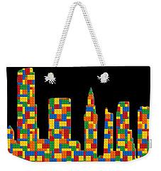 Miami Skyline 3 Weekender Tote Bag