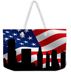 Miami Skyline Weekender Tote Bag