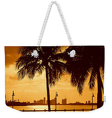 Miami South Beach Romance II Weekender Tote Bag