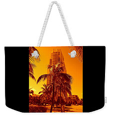 Miami South Pointe Iv Weekender Tote Bag