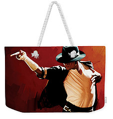 Michael Jackson Artwork 4 Weekender Tote Bag
