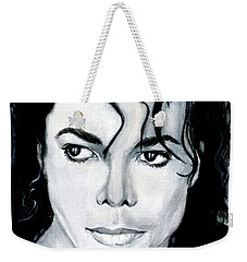 Michael Jackson Portrait Weekender Tote Bag