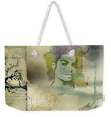 Michael Jackson Silhouette Weekender Tote Bag