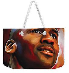 Michael Jordan Artwork 2 Weekender Tote Bag