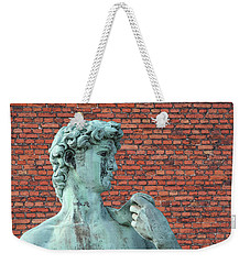 Michelangelos David Weekender Tote Bag