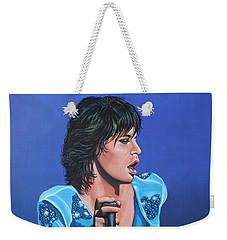 Mick Jagger Weekender Tote Bag by Paul Meijering