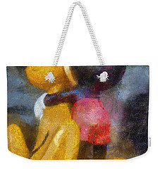 Mickey Mouse Photo Art Weekender Tote Bag