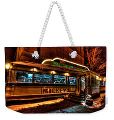 Mickey's Diner St Paul Weekender Tote Bag by Amanda Stadther