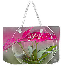 Micro Spheres Weekender Tote Bag