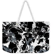Microscopic Alien Fish Are Eating Away At My Brain Weekender Tote Bag