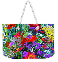 Mid August Bouquet Weekender Tote Bag by Byron Varvarigos