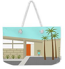 Mid Century Modern House 1 Weekender Tote Bag