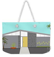 Mid Century Modern House 2 Weekender Tote Bag