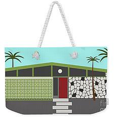 Mid Century Modern House 4 Weekender Tote Bag