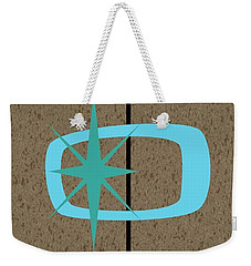 Mid Century Modern Shapes 1 Weekender Tote Bag
