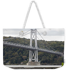 Mid Hudson Bridge Weekender Tote Bag