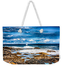 Midday Sail Weekender Tote Bag by Fred Larson