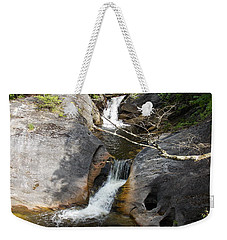 Middle Kent Falls Weekender Tote Bag