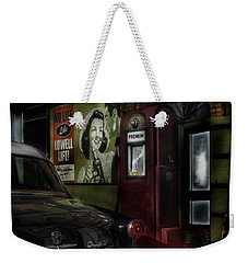 Midnight Fill Up Weekender Tote Bag by Gary Warnimont