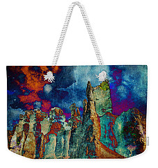 Midnight Fires Weekender Tote Bag