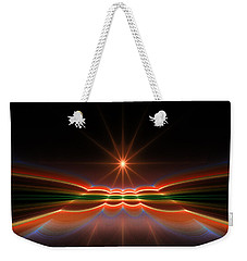 Midnight Sun Weekender Tote Bag by GJ Blackman