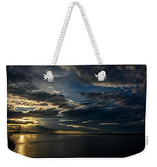 Midnight Sun Over Cook Inlet Weekender Tote Bag