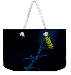 Midnight Sunflower Weekender Tote Bag