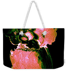 Weekender Tote Bag featuring the painting Midnight Visit by Bill OConnor