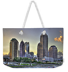 Midtown Atlanta Sunrise Weekender Tote Bag