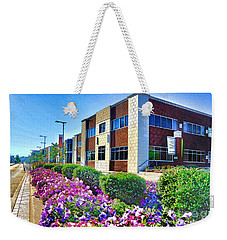Weekender Tote Bag featuring the photograph Geis Midtown Tech Park - Cleveland Ohio by Mark Madere