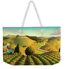 Midwest Vineyard Weekender Tote Bag