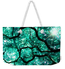 Weekender Tote Bag featuring the photograph Mighty Branches by Cindy Greenstein