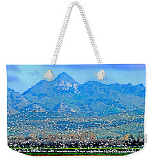 Migrating Birds Over Sutter Wilflife Refuge Weekender Tote Bag
