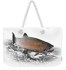 Migrating Steelhead Rainbow Trout Weekender Tote Bag