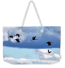 Migration Weekender Tote Bag by Adam Olsen