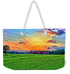 Milan First United Methodist Church Weekender Tote Bag