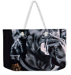 Weekender Tote Bag featuring the painting More Miles Of Davis by Thomas J Herring
