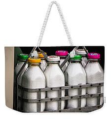 Milk Bottles Weekender Tote Bag