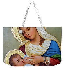Milk Grotto Artwork Weekender Tote Bag by Munir Alawi