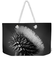 Milk Thistle Bw Weekender Tote Bag