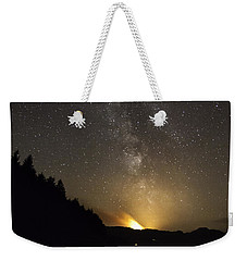Milky Way At Crafnant 2 Weekender Tote Bag