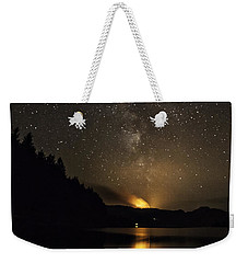 Milky Way At Crafnant Weekender Tote Bag