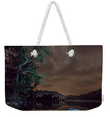Milky Way At Gwenant Weekender Tote Bag