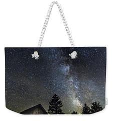 Milky Way Over Foster Covered Bridge Weekender Tote Bag