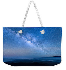 Milky Way Suspended Above Mauna Loa 1 Weekender Tote Bag
