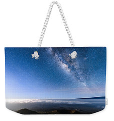 Milky Way Suspended Above Mauna Loa 2 Weekender Tote Bag