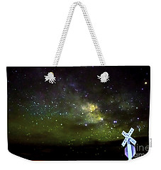 Milkyway  Crossing Blur Weekender Tote Bag