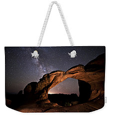 Milkyway Over Broken Arch Weekender Tote Bag